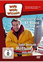 Willi will&#39;s wissen - Wie taucht das U-Boot auf und ab? / Rettung aus der Luft