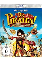 Die Piraten! - Ein Haufen merkw&uuml;rdiger Typen - 3D Blu-ray