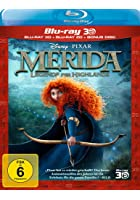 Merida - Legende der Highlands - 3D Blu-ray