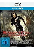 Resident Evil - Retribution - 3D Blu-ray