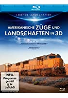 Amerikanische Z&uuml;ge und Landschaften in 3D - 3D Blu-ray