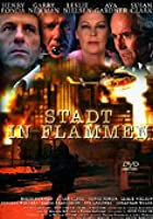 Stadt in Flammen