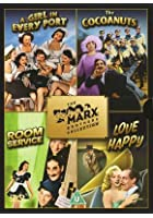 Marx Brothers Collection - A Girl In Every Port/The Cocoanuts/Room Service/Love Happy