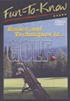 Basics And Techniques Of Golf