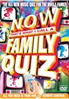 Now That's What I Call A Family Quiz