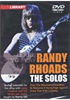 Learn To Play Randy Rhoads - The Solos
