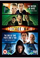 Doctor Who Waters of Mars and Final Specials