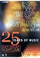 Saturday Night Live - 25 Years Of Music - Vol. 4 - Best Live Music Performances From 1990- 1995