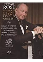 Jerome Rose Plays Liszt - Live In Concert