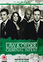 Law And Order Criminal Intent - Series 5
