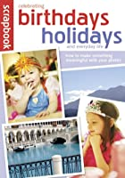 Scrapbook Birthday Holidays
