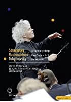 Rattle Conducts Tchaikovsky, Stravinsky And Rachmaninov