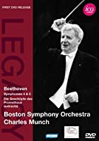 Boston Symphony Orchestra / Charles Munch - Beethoven - Symphonies 4 And 5