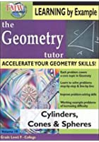 Geometry Tutor - Cylinders, Cones And Spheres