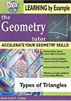 Geometry Tutor - Types Of Triangles