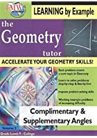 Geometry Tutor - Complimentary And Supplementary Angles