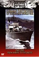 German Destroyers Of The Second World War - Part 1