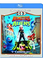 Monsters Vs Aliens - 3D Blu-ray