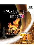 Festive Fireplace - 3D Blu-ray