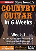 Country Guitar In 6 Weeks - Week 1