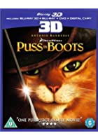 Puss in Boots - 3D Blu-ray