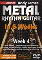 Learn Metal Rhythm Guitar In 6 Weeks - Week 4