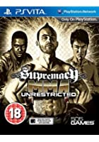 Supremacy MMA: Unrestricted - PS Vita