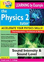 The Physics Tutor Series 2 - Sound Intensity And Sound Level