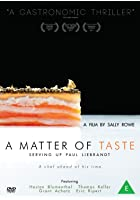 A Matter of Taste - Serving Up Paul Liebrandt