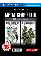 Metal Gear Solid HD - Collection - PS Vita