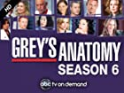 Grey's Anatomy - Series 6