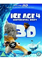 Ice Age 4 - Continental Drift - 3D Blu-ray