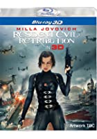 Resident Evil: Retribution - 3D Blu-ray