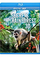 Secrets of the Rainforest - 3D Blu-ray