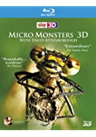 Micro Monsters With David Attenborough - 3D Blu-ray