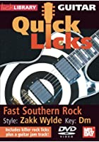 Lick Library: Guitar Quick Licks - Zakk Wylde Fast Southern Rock