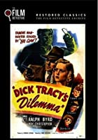 3 Dick Tracy Films Of The SIlver Screen - Dick Tracy's Dilemma / Dick Tracy Meets Gruesome