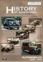 History Of Advertising - Automobiles 1930 To 1940