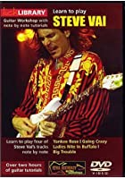 Lick Library - Learn To Play Steve Vai