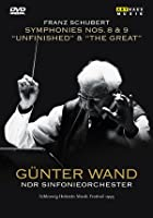 Gunter Wand - Franz Schubert Symphonies No. 8 - Unfinished / No