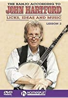The Banjo According To John Hartford - Licks, Ideas And Music - Lesson Two