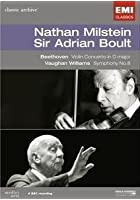 Nathan Milstein And Sir Adrian Boult