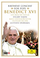 Birthday Concert For Pope Benedict XVI - Hilary Hahn/Gustavo Dudamel