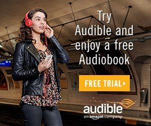 Try Audible and enjoy a Free Audiobook on Amazon
