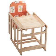 herlag 04842 7340 hochstuhl kombi set orange baby. Black Bedroom Furniture Sets. Home Design Ideas
