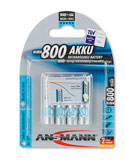 ANSMANN maxE800 Akkus Micro AAA