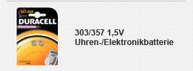 303/357 1,5V Uhren-/Elektronikbatterie