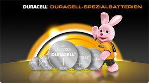 Duracell-Spezialbatterien