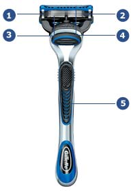 Gillette Fusion Pro Glide Highlights