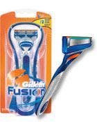 Gillette Fusion Rasierer
